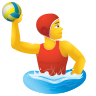 Man Playing Water Polo icon
