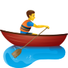 Man Rowing Boat icon