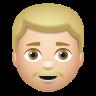 Man With Mustache Medium Light Skin Tone icon