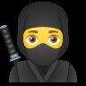 Ninja Emoji icon