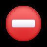 No Entry icon