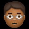 Older Person Medium Dark Skin Tone icon