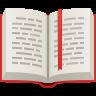 Open Book Emoji icon