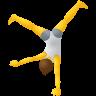 Person Cartwheeling icon