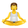 Person In Lotus Position icon