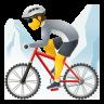 Person Mountain Biking icon