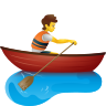 Person Rowing Boat icon