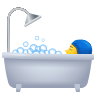 Person Taking Bath icon