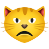 Pouting Cat icon