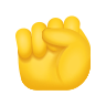 Raised Fist Emoji icon