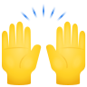 Raising Hands icon
