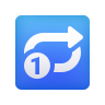 Repeat Single Button icon