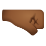 Right Facing Fist Medium Dark Skin Tone icon
