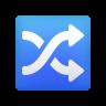 Shuffle Tracks Button icon