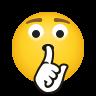 Shushing Face icon