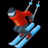 Skier Emoji icon
