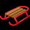 Sled Emoji icon