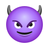 Smiling Face With Horns icon