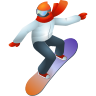 Snowboarder Emoji icon