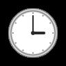 Three O'clock icon
