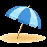 Umbrella On Ground icon