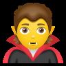 Vampire Emoji icon