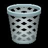 Wastebasket icon
