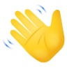 Waving Hand Emoji icon