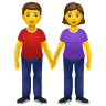 Woman And Man Holding Hands icon
