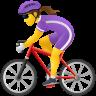 Woman Biking icon