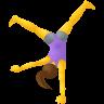 Woman Cartwheeling icon