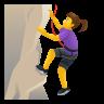 Woman Climbing icon