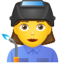 Woman Factory Worker icon