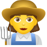 Woman Farmer icon