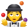 Woman Juggling icon