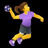 Woman Playing Handball icon