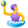 Woman Playing Water Polo icon