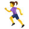 Woman Running icon