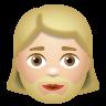 Woman With Beard Medium Light Skin Tone icon