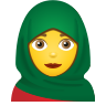 Woman With Headscarf icon