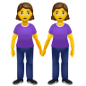 Women Holding Hands icon