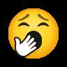 Yawning Face icon