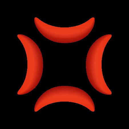 Anger Symbol icon