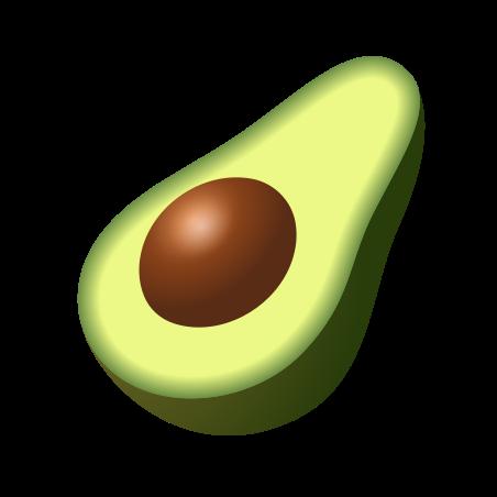 Avocado icon in Emoji