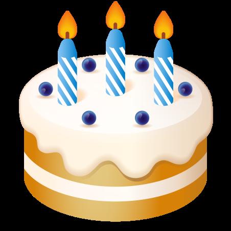 Birthday Cake Emoji icon