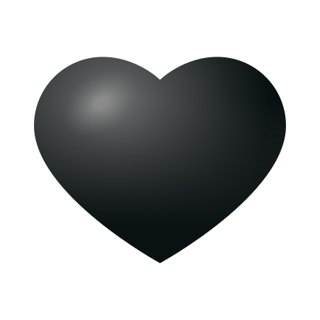 Black Heart icon