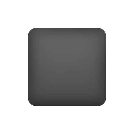 Black Medium Square icon
