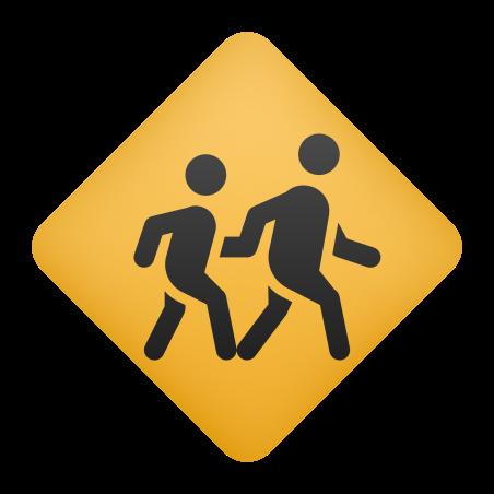 Children Crossing icon