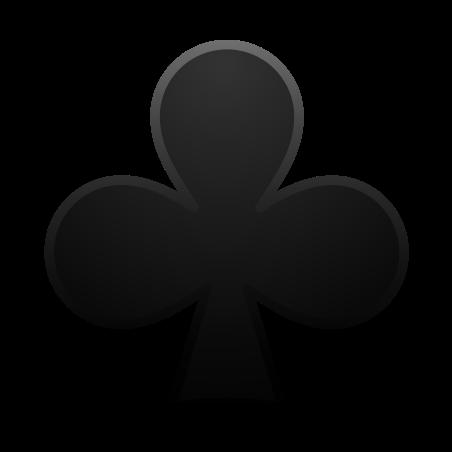 Club Suit icon in Emoji