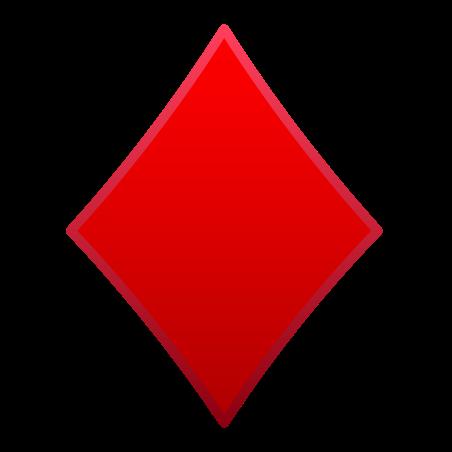 Diamond Suit icon in Emoji